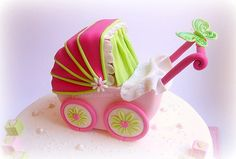 Close-up Pram Cake | Cécile Crabot | Flickr