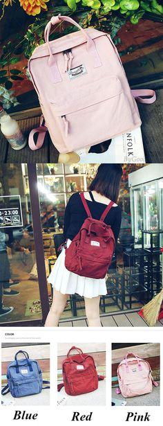 Unique Multi-function Travel Handbag Backpack Leisure Canvas Lady School Rucksack for big sale! #travel #unique #backpack #Handbag #Bag #school #canvas