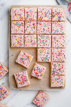 Sugar Cookie Bars Chewy Sugar Cookies, Sugar Cookie Bars, Sugar Cookie Frosting, Best Sugar Cookies, Fun Cookies, How To Make Cookies, Easy Summer Desserts, Winter Desserts, Fun Desserts