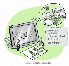 TVs assembled in America draw buyers    holy cow that is adorable, I hope the American assembled TVs get the buyers of their lil dreams