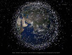 An Orbiting Garbage Collector That Eats Space Junk To Fuel Itself 12/4/15   Popular Science