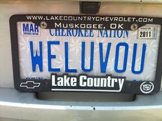 Oklahoma Sooners License Plates