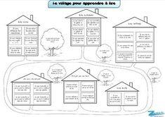 Le village pour apprendre à lire - Zedra - Dans ma valise pédagogique...