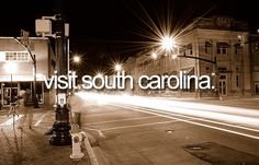 Visit South Carolina | Bucket List