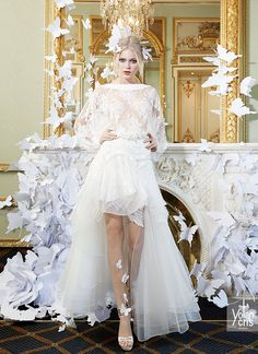 YOLAN CRIS Bridal Collection 2015 | Lace Couture - Heidy bridal outfit