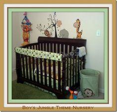 Jungle Nursery idea for Cody's room