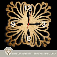 Laser cut wall clock / coaster templates, buy online now, free vector designs every day. Clock Template, 3 Shop, Scroll Saw Patterns, Vector File, Coaster Set, Vector Design, Laser Cutting, Free Design, Clocks