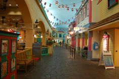 Disney's Caribbean Beach Resort Market Street Food Court - For more resort…
