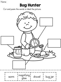spring kindergarten literacy worksheets common core aligned - Free Activity Sheets For Kindergarten