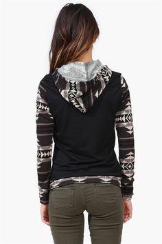 black and white aztec sweatshirt. I LOVE THIS