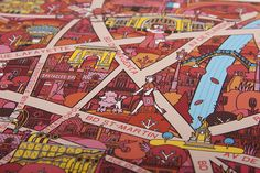 Illustrated Maps Made by Famous Creatives