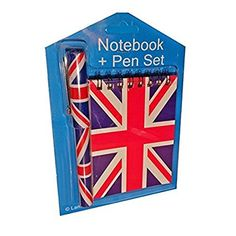 Another classic stocking filler idea from My London Souvenirs - our  Union Jack Notebook and Matching Pen Set - perfect for home, school or office!    £4.99 & FREE Delivery in the UK on orders over £20!    #unionjack #notebookandpen #stockingfiller #christmasgifts #mylondonsouvenirs
