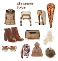 """""""Winter Spice:Cinnamon"""" by baelovesfashion ❤ liked on Polyvore featuring Hetregó, Pilot, Timberland, Karen Millen, Marc Jacobs, Dolce&Gabbana, Everest, Mark & Graham, Charlotte Russe and 7II"""