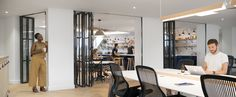 cocina abierta oficinas airbnb parís