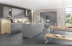 Our Modern Nobilia Kitchen Range offers a selection of colours, fronts and materials. Customise your German kitchen with A&S Home Design. Nobilia Kitchen, Wooden Kitchen Cabinets, Kitchen Decor, Handleless Kitchen, Cocinas Kitchen, Contemporary Kitchen Interior, Interior Design Kitchen, High Gloss Kitchen Doors, European Kitchens