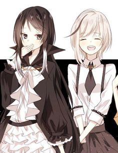 Gender bend Akutagawa and Atsushi