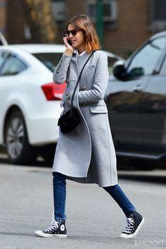 Coat. Alexa Chung