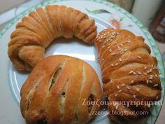 Ζουζουνομαγειρέματα: Τυροπιπερόπιτες! Recipies, Bread, Pastries, Food, Recipes, Brot, Tarts, Essen, Baking