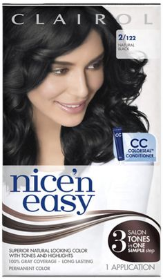 Nice 'n Easy Permanent Color, 2/122 Natural Black 1 ea (Pack of 9) * Check this awesome product by going to the link at the image.