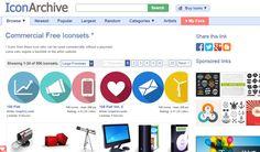 5 excelentes buscadores de iconos gratuitos y de libre uso