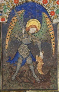 Horae ad usum romanum.  Date d'édition :  1401-1500  Latin 1156B  Folio 165r