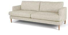 Kotka 3-Sitzer Sofa, Vintage-Sand