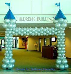 Castle Balloon Arch