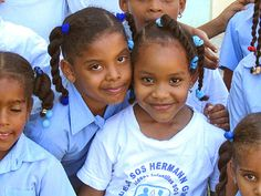 this really reminds me of visiting the Compassion school the first time I went to santo domingo, Dominican Republic