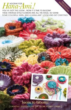HobbyLobby Projects - Loom to Bloom! ...not pattern ...book...
