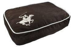 Beverly Hills Polo Club Super Horse Puff Pillow Pet Bed, 20 by 14 by 4-1/2-Inch, Brown * More info could be found at the image url.