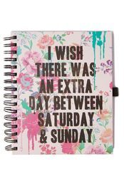 a5 collegiate notebook, DAY BETWEEN