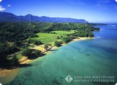 Anini Beach Very good snorkeling beach with a large, shallow area that is sheltered by the protecting reef onshore. Stay away from any openings in the reef where currents may be moving out to the open ocean.