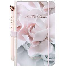 Buy Ted Baker Min Notebook and Pen, Rose Online at johnlewis.com