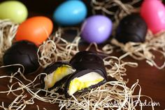 Low Carb Copycat Easter Creme Eggs Recipe | All Day I Dream About Food