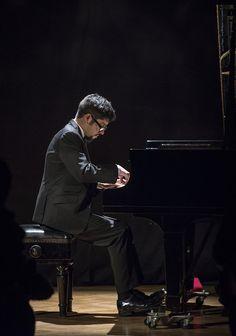 José Contreras - Jóvenes Pianistas. Foto de Patricio Melo