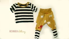 Baby boy outfit newborn organic baby boy pants baby boy shirt by MishmashClothing on Etsy