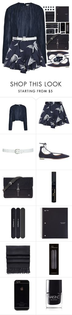 """One of a Kind"" by ritaof ❤ liked on Polyvore featuring TIBI, C/MEO COLLECTIVE, M&Co, Aquazzura, Sandqvist, Reviva Labs, MAC Cosmetics, Acne Studios, Fujifilm and Flamant"