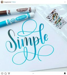 Craft Quotes Hand Lettering 23 Ideas For 2019 Calligraphy Quotes Doodles, Brush Lettering Quotes, Doodle Lettering, Hand Lettering Quotes, Creative Lettering, Calligraphy Alphabet, Lettering Styles, Typography Letters, How To Write Calligraphy