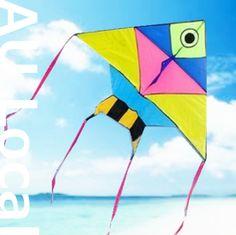 Tropical Fish Delta Kite Line Grip included 144x115cm OKITE2601&OKLIN2040