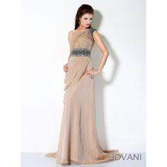 Jovani One Shoulder Prom Dress
