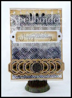 Created by Lovely Linda for  @Spellbinders #Want2Scrap #JustRite