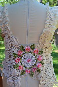 ROSES- vestidos de crochê - Pesquisa Google