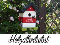Nistkästen & Vogelhäuser - Vogelhaus kleiner Leuchtturm (individualisierbar) - ein Designerstück von Holzallerliebst bei DaWanda