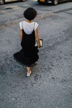 monochrome // street style