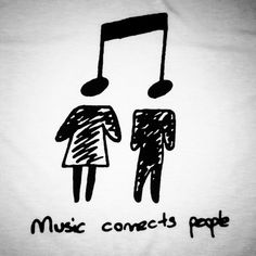 Music Connects People!!! Unisex Sizing: Girls order 1 size smaller than normal.                                                                                                                                                                                 More