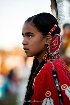 Native American girl at Rocky Boy Powwow on Rocky Boy Indian Reservation in Montana. Native American Children, Native American Pictures, Native American Quotes, Native American Symbols, Native American Beauty, American Indian Art, Native American History, American Indians, American Pride