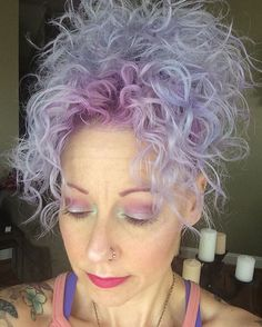 Use the perwinkle conditioner kit to get teehaire's pastel perfection. #periwinklehair @joicointensity @overtonecolor #overtone #overtonecolor #joicocolorintensity #unicornhair #pastelhair