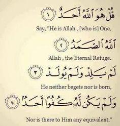 Quran: Surat Al-Ikhlas