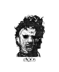 He encontrado este interesante anuncio de Etsy en https://www.etsy.com/es/listing/188445176/leatherface-illustration