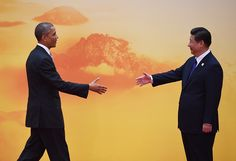 奥巴马和习近平